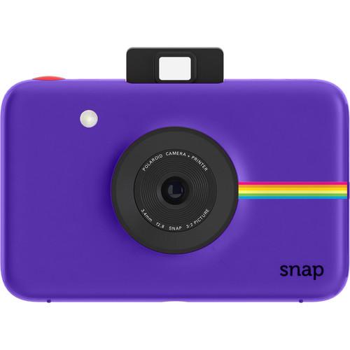 Polaroid Snap Instant Digital Camera with Paper Kit (Purple)