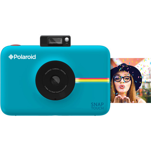 Polaroid Snap Touch Instant Digital Camera with Pouch Kit (Blue)