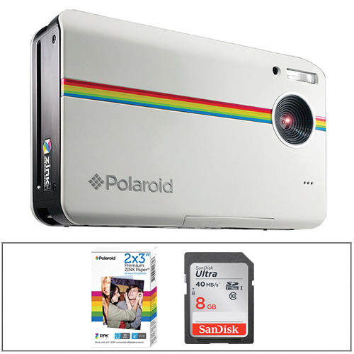 Polaroid Z2300 Instant Digital Camera Kit (White)