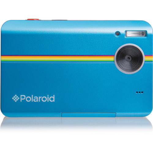 Polaroid Z2300 Instant Digital Camera Kit with 100 Sheets of Photo Paper (Blue)