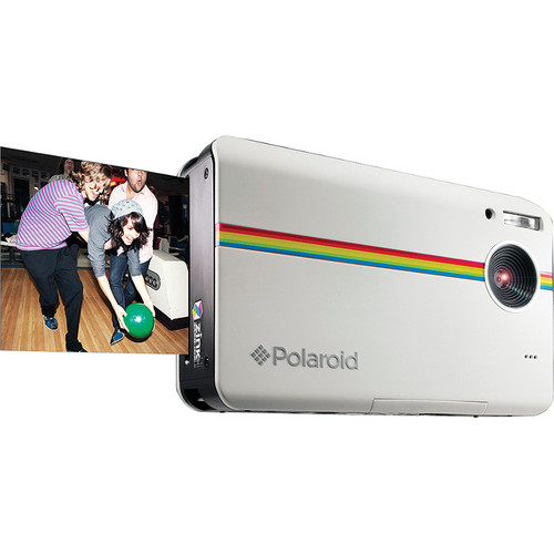 Polaroid Z2300 Instant Digital Camera Kit with 100 Sheets of Photo Paper (White)