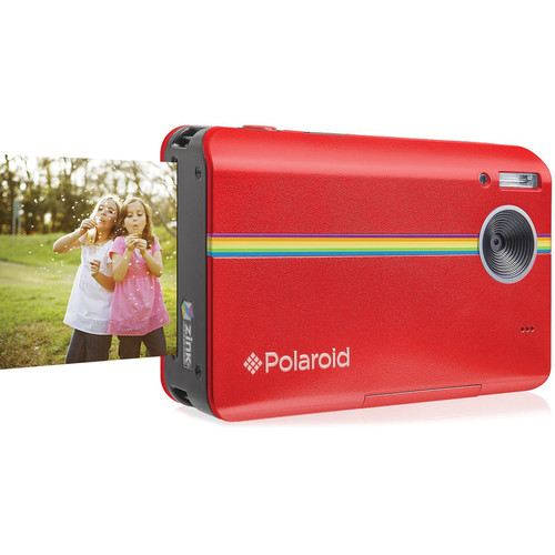 Polaroid Z2300 Instant Digital Camera with Paper & SD Card Kit (Red)