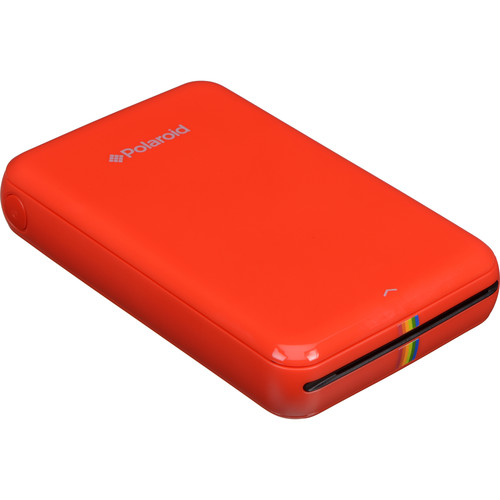 Polaroid ZIP Mobile Printer Kit with 20 Sheets of Photo Paper (Red)