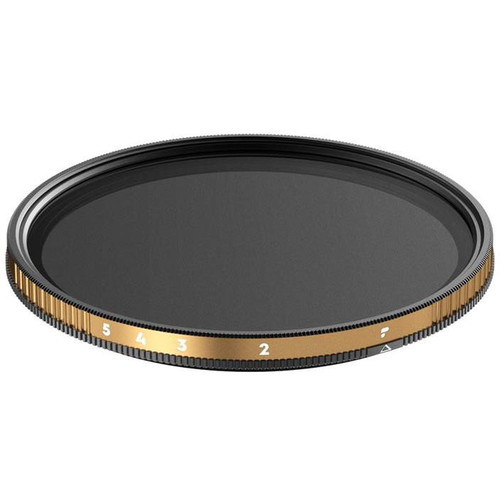 PolarPro 82mm Peter McKinnon Edition Variable Neutral Density 0.6 to 1.5 Filter (2 to 5-Stop)