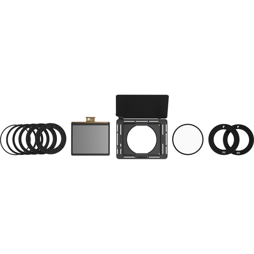 PolarPro Basecamp Matte Box Kit with Variable ND 2-5 & Polarizer Filters