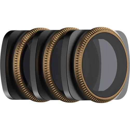 PolarPro Vivid Collection ND/PL Filters for DJI Osmo Pocket Gimbal (Set of 3)