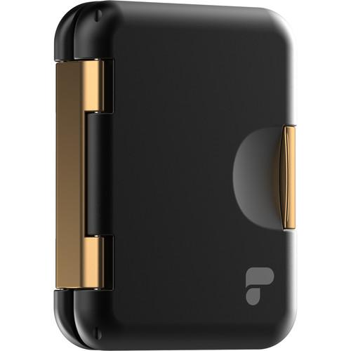 PolarPro SD Edition Slate Memory Card Case, Stores 16 MicroSD Cards and 8 SD Card (Black)