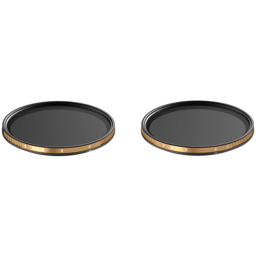 PolarPro 67mm Peter McKinnon Edition Variable Neutral Density 0.6 to 1.5 and 1.8 to 2.7 Filter Kit (2 to 5 and 6 to 9-Stop)