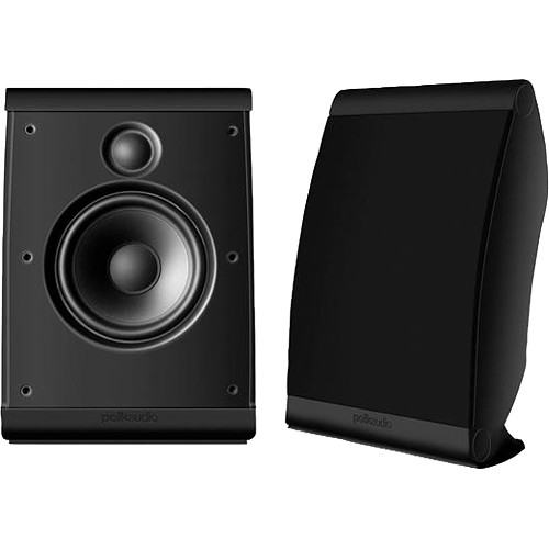 Polk Audio OWM3 Compact Surround Speakrs (Pair/Black)