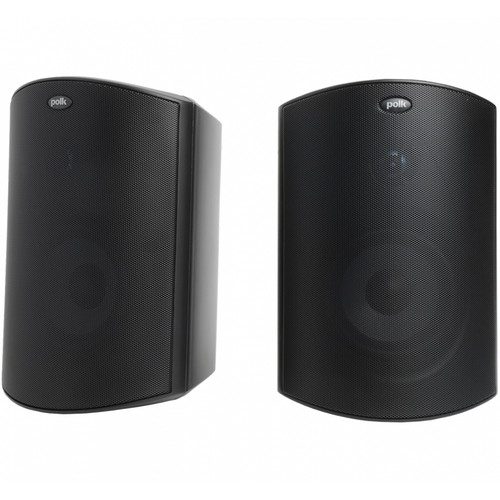Polk Audio Atrium6 All-Weather Outdoor Speakers (Black, Pair)
