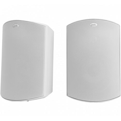 Polk Audio Atrium6 All-Weather Outdoor Speakers (White, Pair)