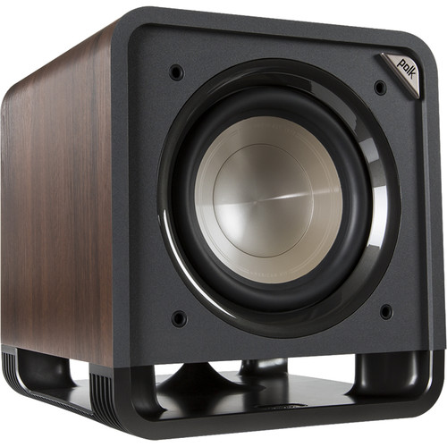 "Polk Audio HTS 10 10"" 200W Subwoofer (Classic Brown Walnut)"