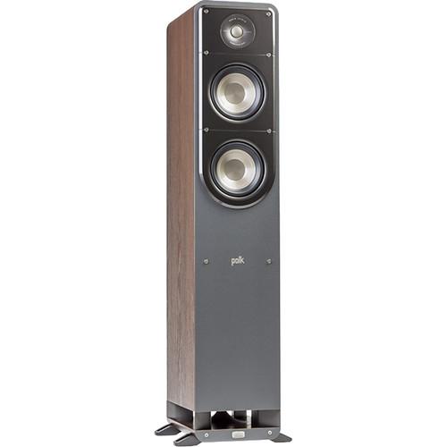 Polk Audio Signature Series S50 Floorstanding Speaker (Classic Brown Walnut, Single)