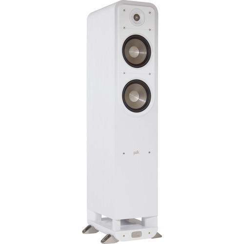 Polk Audio Signature E Series S50e Floorstanding Speaker (White Washed Walnut, Single)