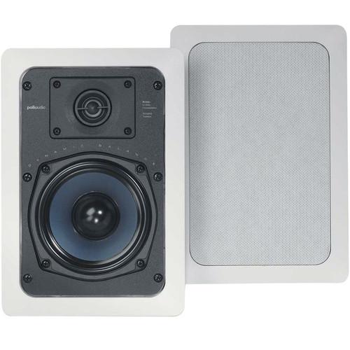"Polk Audio RC55i 5.25"" In-Wall Speakers (Pair/White)"