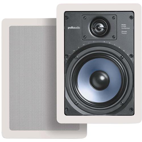 Polk Audio RC65i In-Wall Speakers (Pair)