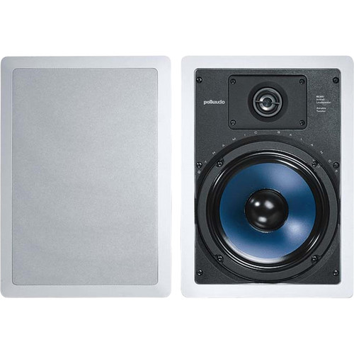 "Polk Audio RC85i 8"" In-Wall Speakers (Pair/White)"
