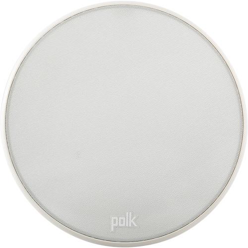 """Polk Audio V60 Slim 6.5"""" Two-Way In-Ceiling Speaker (White)"""