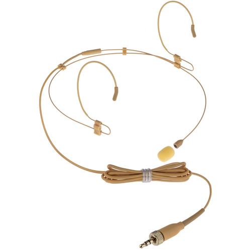 Polsen ESM-2-35H Dual-Sided Earset Microphone for Sennheiser Transmitters