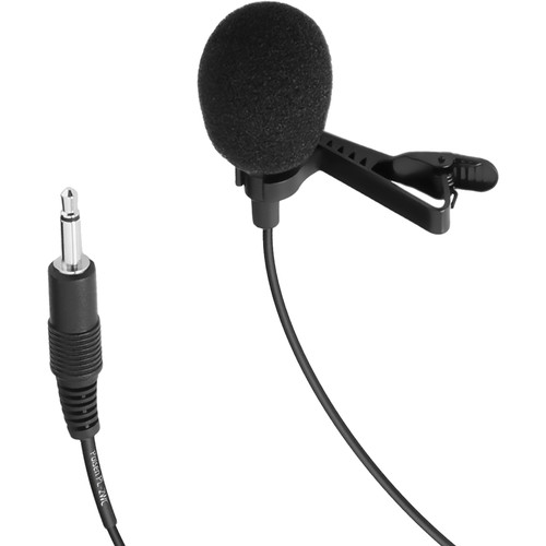 """Polsen PL-2WC Cardioid Lavalier Microphone with 1/8"""" (3.5 mm) Connector"""