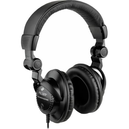 Polsen HPC-A30 Closed-Back Studio Monitor Headphones (3 Pack)