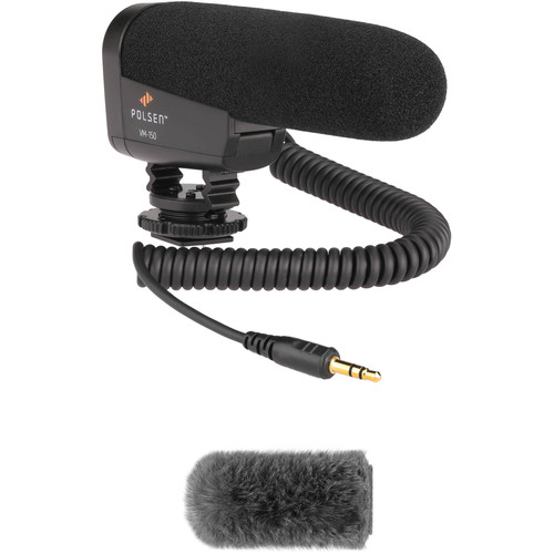 Polsen Polsen VM-150 DSLR/Video Microphone & Custom Windbuster Kit