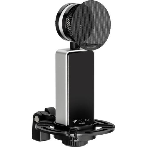 Polsen RM-800 Large-Diaphragm Condenser Microphone (Black)