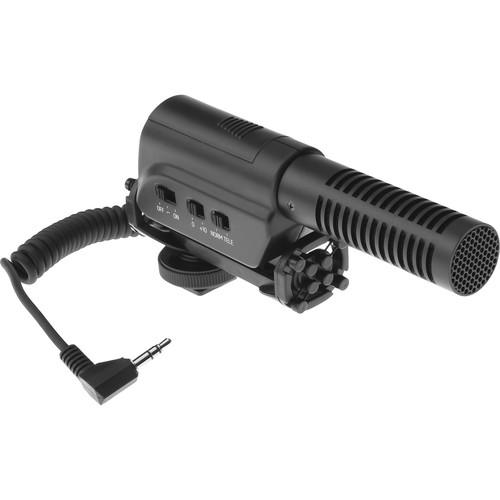 Polsen Polsen VM-180M DSLR/Video Microphone & Custom Windbuster Kit