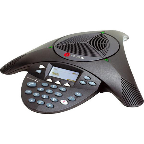 Polycom SoundStation2W Wireless Analog Conference Phone with Base Station