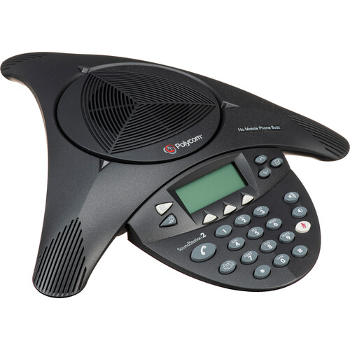 Polycom Soundstation 2 Expandable Conference Phone With Display