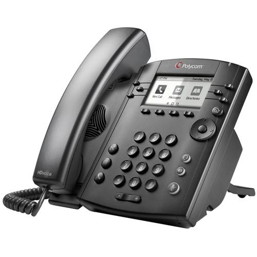 Polycom VVX 311 6-Line Desktop Phone PoE