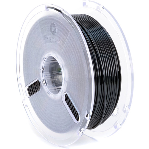 Polymaker 2.85mm PolyLite PLA Filament (1 kg, True Black)