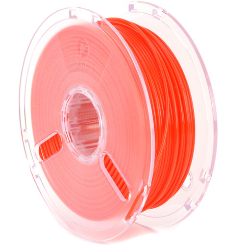 Polymaker 3mm PolyLite PLA Filament (1 kg, True Red)