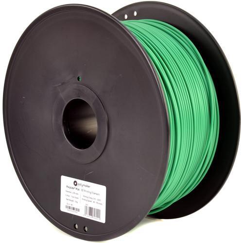 Polymaker 3mm PolyLite PLA Filament (3 kg, True Green)