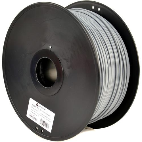 Polymaker 2.85mm PolyLite PLA Filament (3 kg, True Gray)