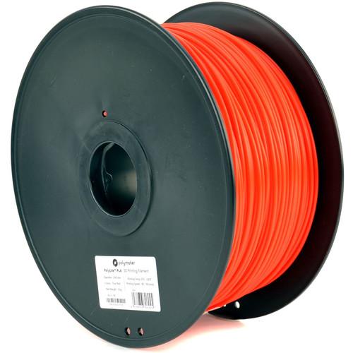 Polymaker 2.85mm PolyLite PLA Filament (3 kg, True Red)