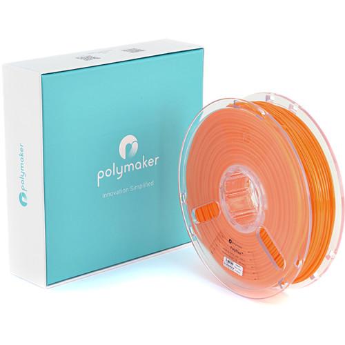 Polymaker PolyFlex 2.85mm TPE Filament (750g, Orange)