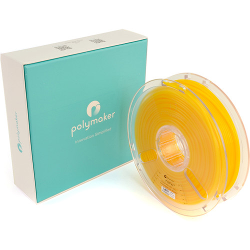 Polymaker PolyFlex 2.85mm TPE Filament (750g, Yellow)