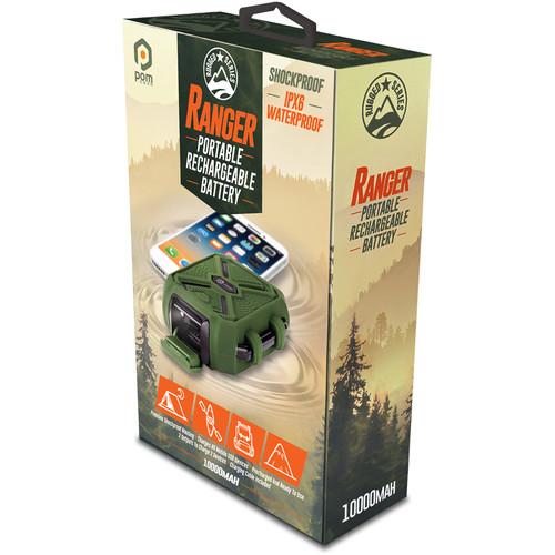POM GEAR Ranger 10,000mAh Rugged Battery Pack