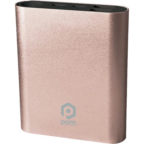 POM GEAR Power2Go 10 10,400mAh Power Bank (Rose Gold)