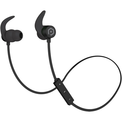 POM GEAR Fit Pro Wired & Wireless Sport Earbuds (Black)