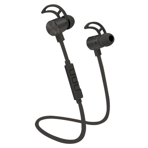 POM GEAR Pro2GO P-One Wireless Bluetooth Noise-Cancelling Earbuds (Black)