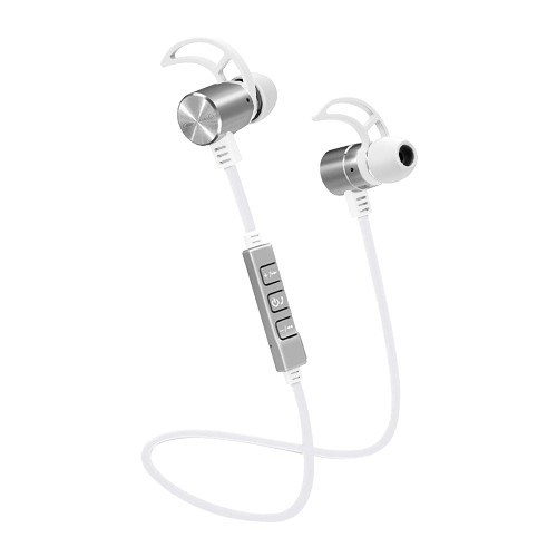 POM GEAR Pro2Go Pro100 Bluetooth Noise-Cancelling Earbuds (White)