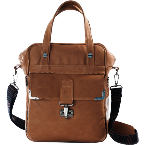 POMPIDOO Amsterdam Unisex Camera Bag (Aged-Looking Brown)