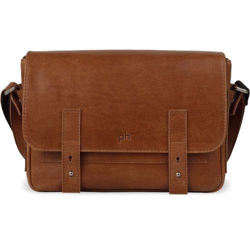 POMPIDOO Tokyo Camera Messenger (Aged-Looking Brown)
