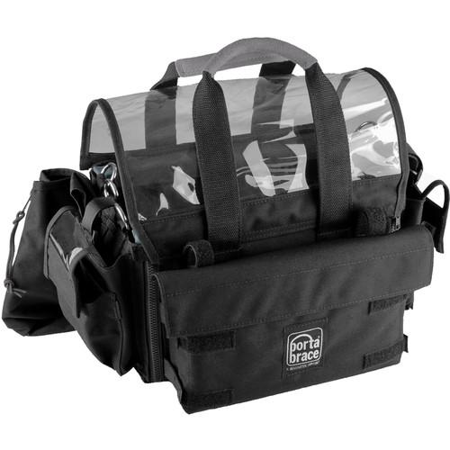 Porta Brace AO-1.5XBH Audio Organizer with AH-2H Harness Kit (Black)