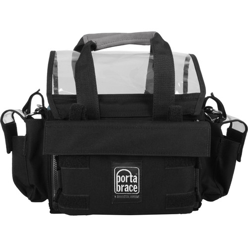 Porta Brace AO-1XBH Audio Organizer with AH-2H Harness Kit (Black)