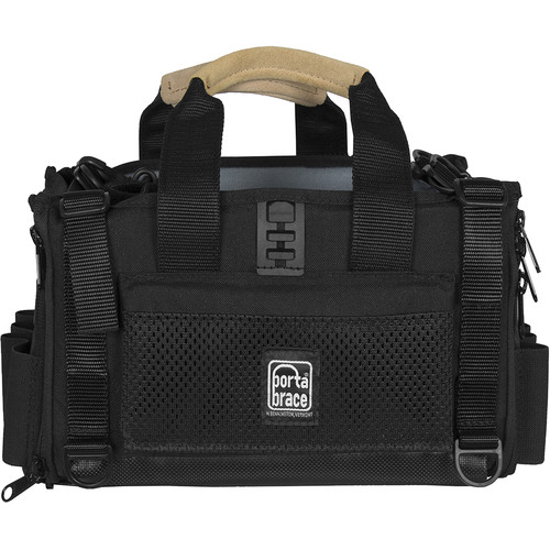 Porta Brace Silent Audio Organizer Bag for Sound Devices 644 Portable Recorder