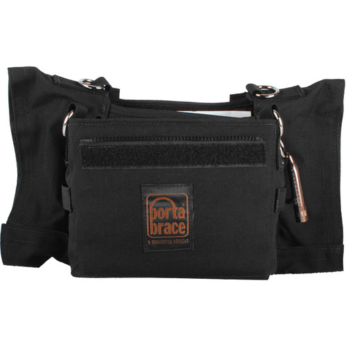Porta Brace Carrying Case for Sonosax SX-R4 Recorder (Black)