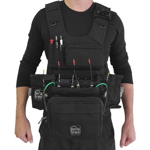 Porta Brace ATV-688 Audio Tactical Vest for Sound Devices 688 Portable Recorder